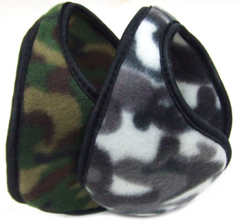 BS23210-2 Camouflage Fleece Ear Muffs-50dz./ case