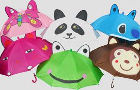 BS23236-7 Kid's Animal Umbrella-120/case