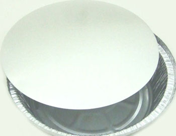 "CFE212 #2109 8"" Round Container Lid- 500/case"