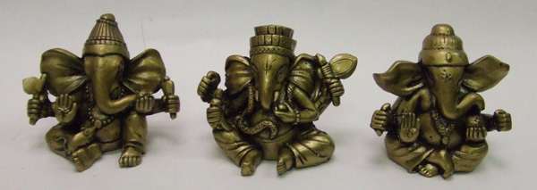DL23340 3pc Ganesh- 24/case