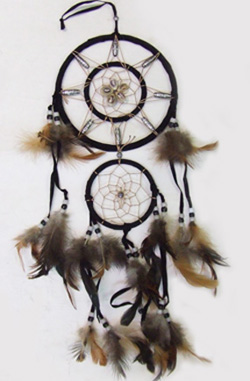 "DL23372-10 2 Tier 6.25"" Dreamcatcher- 16 doz/case"