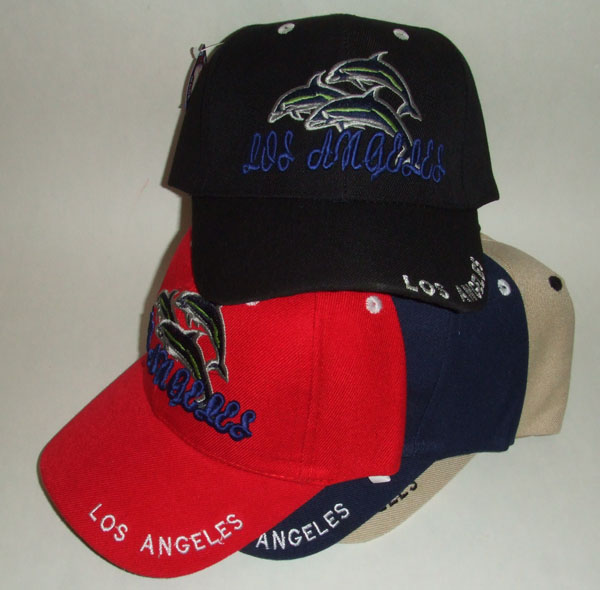 HW23100 Los Angeles Dolphin Cap- 144/case