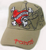 HW23147 Poison Heart Cap- 144/case