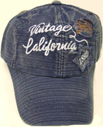 HW23205 Vintage California Cap- 144/case