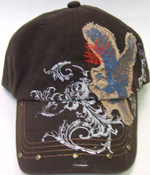 HW23262 Eagle Fashion Cap- 144/case