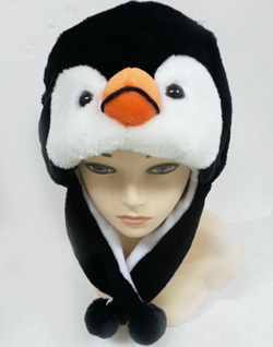 HW23468-10 Animal Hat-Penquin-100/case