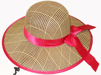 HW23542-2 Ladies Hat w. Ribbon-120/case