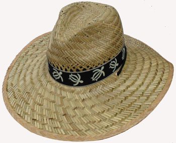 HW23633 Large Straw Hat w. Band-120/case