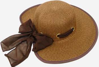 HW23640 Ladies Hat-8 Holes Butterfly Tail-120/case