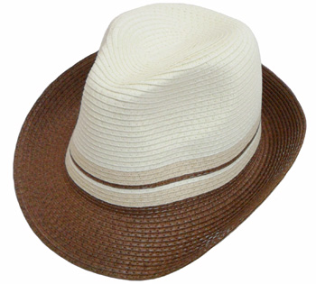 HW23691 Men fedora-2 Tones-120/case
