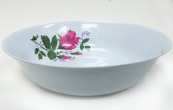 "KH23123R 9"" Red Soup Bowl 96/case"