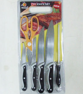 KH23156  7pc. Knife Set-72/case