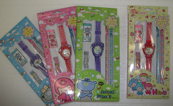 OF23182 Watch & Stationary Set- 120/case