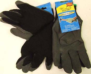 OF23266-3 Black Work Gloves- 144/case