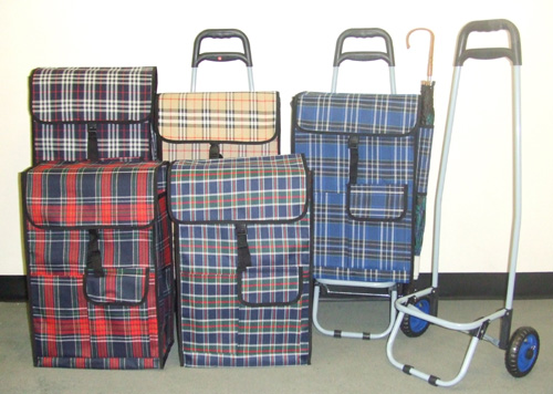 OF23295 Detachable Shopping Bag on Wheel Cart- 10/case