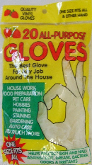 OF23375 16pc Disposable Gloves- 144/case