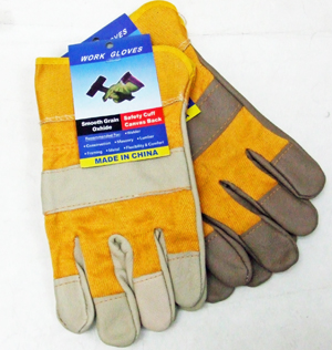 OF23383 Leather Work Gloves- 120/case