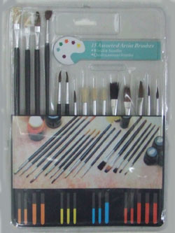 OF23393  15pc. Art Brush Set-144/case