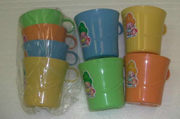 PS23056 4pc Plastic Cups- 96/case