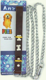 PS23098-1 Dog Chain Leash- 60/case