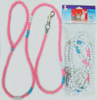 PS23146  Dog Leash-Beads-240/case