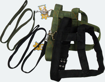 PS23163 Large Dog Harness w. Leash-60/case