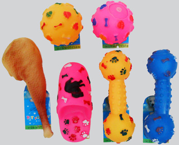 PS23191 Assorted Pet Squeaky Toy-120/case