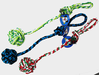 PS23208-2 Pet Ball-long Rope-120/case