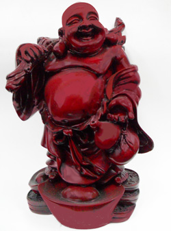 ST23544 Red Lucky Budha-4/case