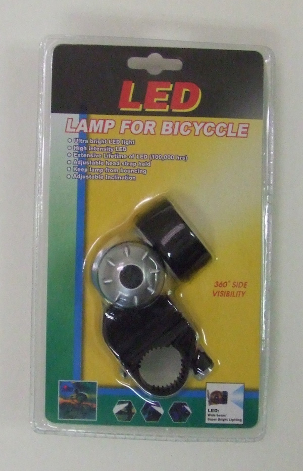 TL23095 3LED Bicycle Light- 60/case