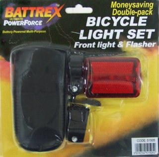 TL23165-3 Bicycle Light Set 120/case