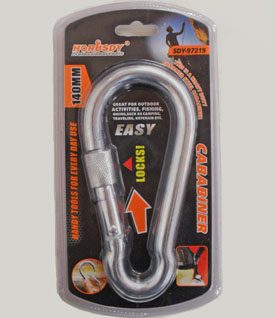 TL23270-  140mm Carabiner-72/case