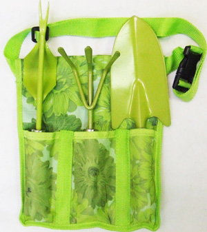 TL23600 3pc Garden Tool w/ Carry Bag- 36/case