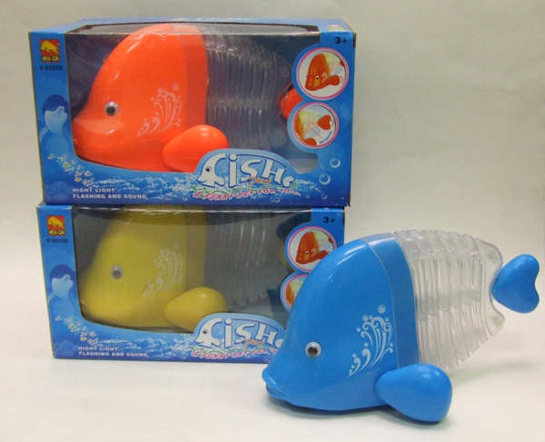 TY23150 Dancing Fish w/ Light & Music- 36/case