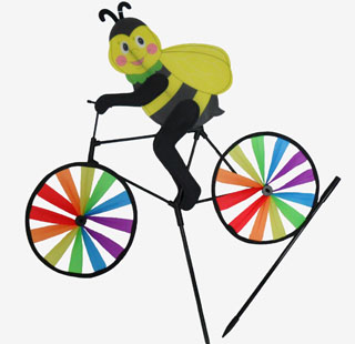 TY23240-2 Windmill-Bee on Bike-60/case