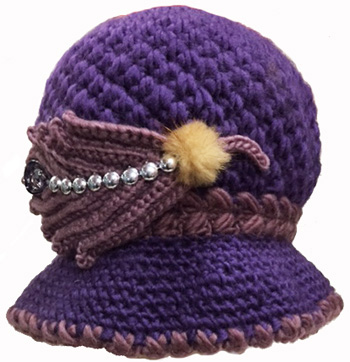 WA23022 Crochet Ladies' Hat-20 DZ. /case