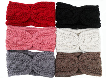 WA23046-1  Knit Head Band-20Dz./ case