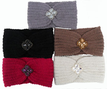 WA23046-6  Knit Head Band-20Dz./ case