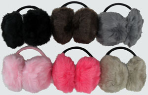WA23047 Fur Ear Muffs-20Dz./case