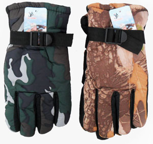 WA23063 Camouflage Gloves-10 Dz./case