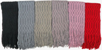 WA23093 Multi Use Scarf-12 Dz. /case